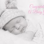 Code:0207 (It's a Girl!) €9.99 pack of 6 Message: Welcome to your bundle of joy! Photo by Mary Farmer